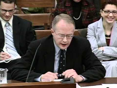 December 19th, 2007: Select Committee Hearing,