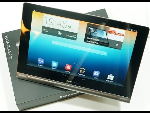 Lenovo Yoga Tablet 10 - hands on with the groundbreaking new 18 hour Android tablet [Review]