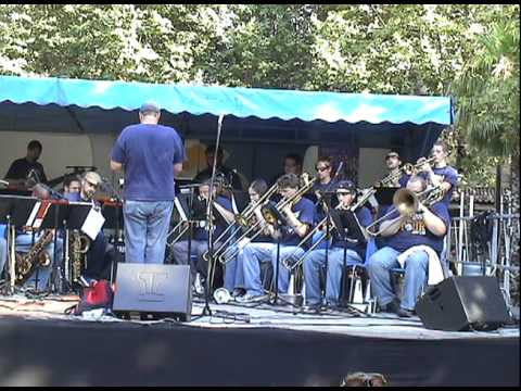 UCO Jazz Ensemble performing Nefertiti Idioteque at the Jazz a Juan Festival 2010