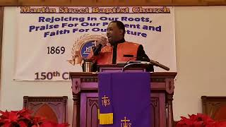 December 22, 2019 live sermon from MSBC by Dr. Shawn J. Singleton