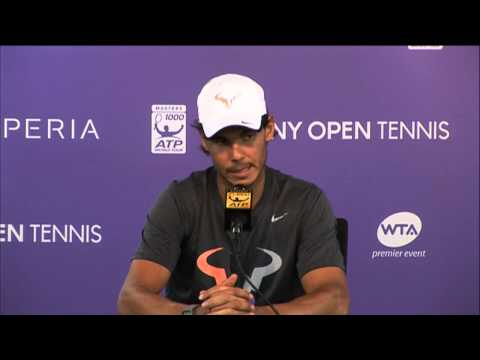 Nadal Reflects On Rout Of Istomin at the 2014 Sony Open Tennis