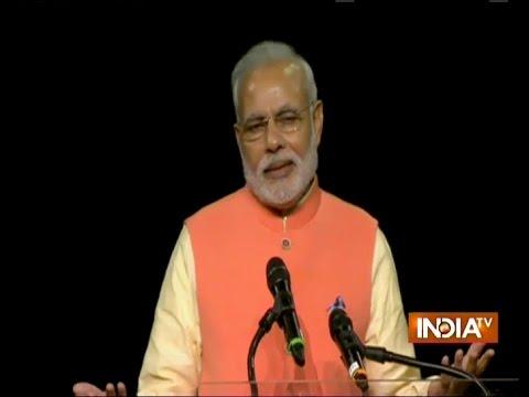 Hightlights Of Narendra Modi's Speech At Madison Square Garden (part 1) - India Tv video