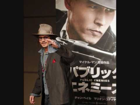 Johnny Depp Japan Public Enemies Press Conference (9th Dec 2009)