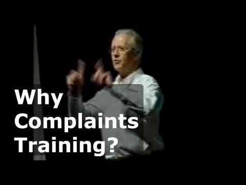 A take home message - customer complaints | Colin Bockman