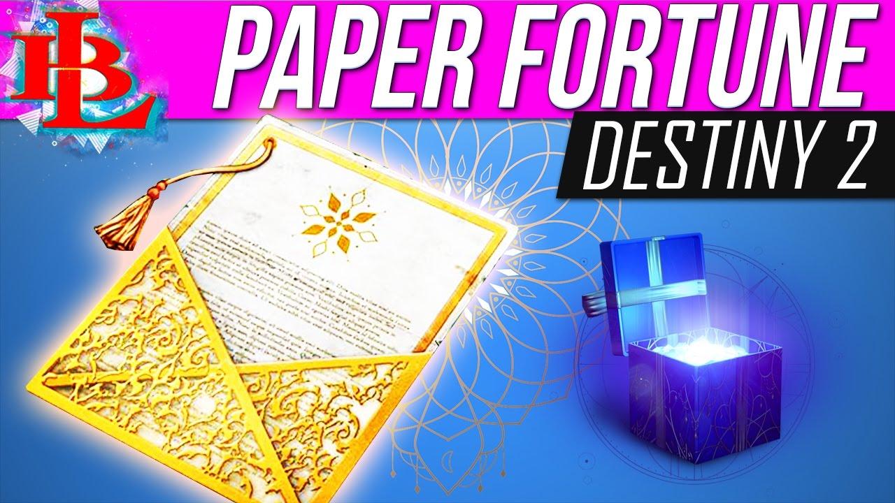 destin paper