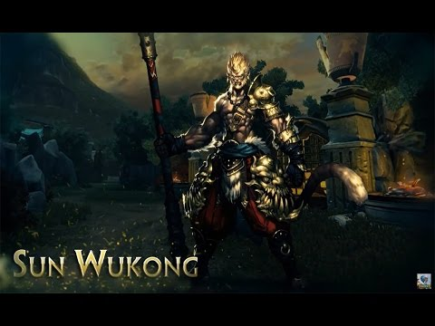 SMITE Sun Wukong GAMEPLAY (PT-BR)