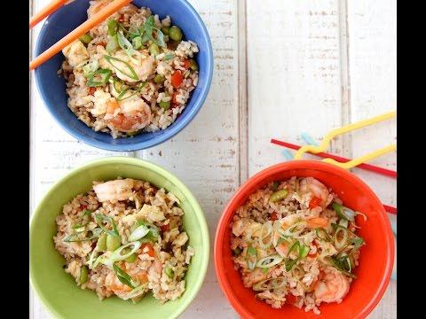 Shrimp UnFried Rice - Healthy Dinner Recipes - Weelicious