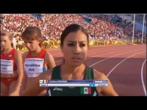 Final 1500 Metros Women's - Kazan - Russia 2013