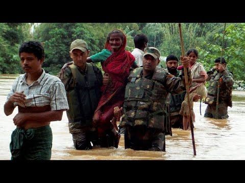 Monsoon Rains flood Assam, 60,000 people affected