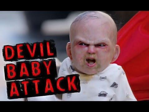 Devil Baby Attack Prank in New York City || Devil Due Movie 2014 || Devil Baby in Stroller[FULL HD]