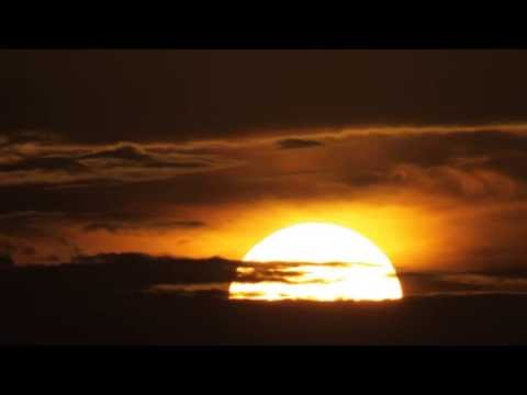 Beautiful Sunrise.rising Sun In Florida. Time Lapse Hd 1080p video