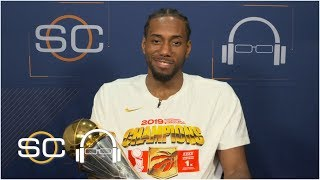 Kawhi Leonard grateful to have made history with the Raptors, talks free agency | 2019 NBA Finals