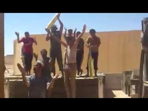 شباب ليبيا الرجال فى الجيش  - كشك ليبي بنغازي