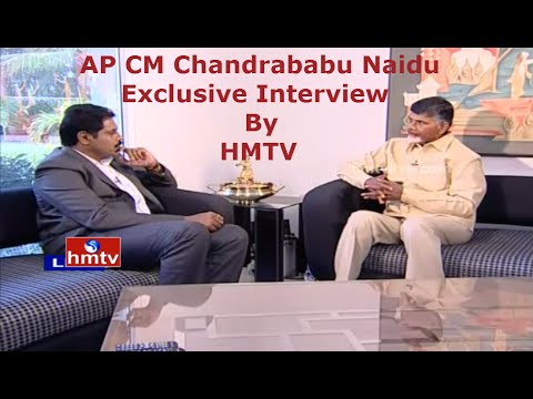 AP CM Chandrababu Naidu Full Exclusive Interview | Completion of 2 Years Governance | HMTV
