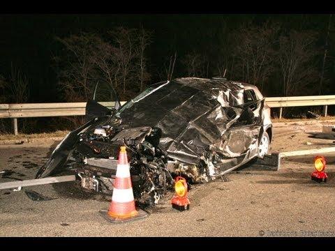 Wieder Geisterfahrer Unfall auf der A3 - Unschuldige stirbt i..