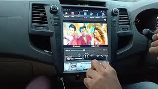 Toyota Fortuner Taxla screen