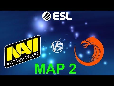 [RU] Natus Vincere vs. TNC Predator - ESL One Mumbai 2019 BO3 @4liver MAP 2