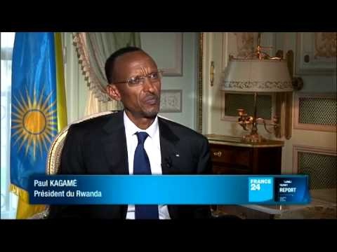 FRANCE 24 L'Entretien - Paul Kagame, président de la République du Rwanda