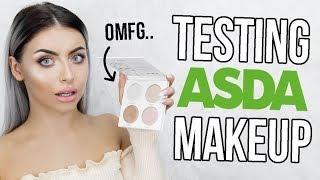 TESTING ASDA / WALMART MAKEUP! EVERYTHING UNDER £5! OMG!