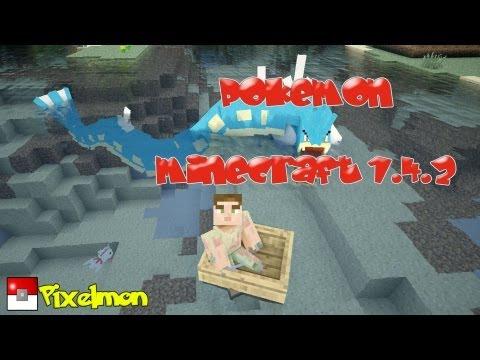 Pixelmon Mod Minecraft 1.4.2   Pokemones en Minecraft!  
