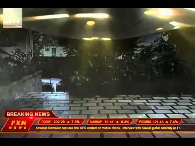Breaking News: UFO Landing at Los Angeles