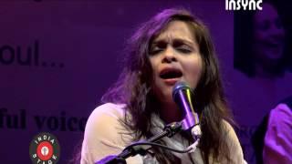 "Pooja Gaitonde performing sufi song ""Saanson ki mala"" for Sur sangat."