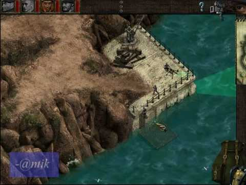 Commandos: Beyond the Call of Duty, Mission: 01 Walk through (in one chance)