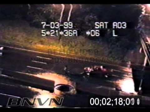 7/3/1999 Full Raw Traffic Camera Catching Explosive Storm Sewer Flooding - Full video