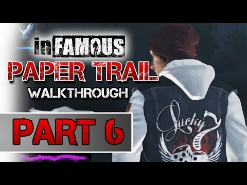 inFAMOUS: Paper Trail Part 3 - Second Son Mission Walkthrough: PART 6