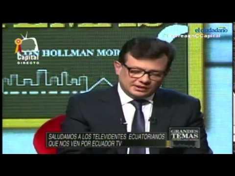 Entrevista del Presidente Rafael Correa en Canal Capital de Colombia