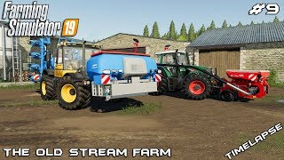 New tractor, spring planting | Animals on The Old Stream Farm | Farming Simulator 19 | Episode 9