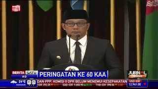 Hatur Nuhun, Kata Penutup Pidato Ridwan Kamil di KAA