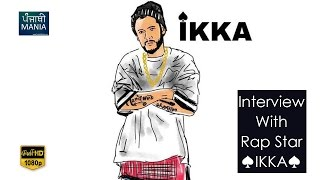 Interview with Rapstar Ikka | Talks about Yo Yo Honey Singh, Dr. Zeus & A special rap for FANS