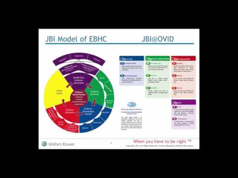 The Joanna Briggs Institute and Evidence Based Health Care