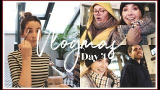 CHATTY MAKEUP TESTING & CAROLS IN THE SNOW | VLOGMAS