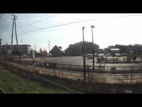 【車窓風景】 一畑電車 北松江線(下り) 一畑口→松江しんじ湖温泉