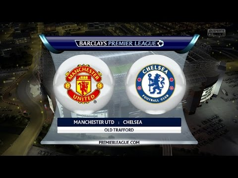 Manchester United vs  Chelsea FC | Barclays Premier League | FIFA 15