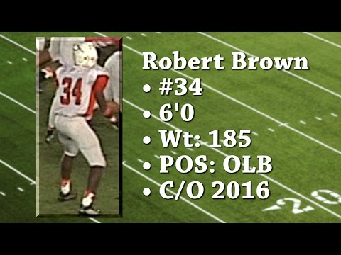 Robert Brown South Miami Senior High School OLB - C/O 2016 [HD] ©