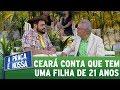 Matheus Ceará conta que tem uma filha de 21 anos | A Praça é Nossa (26/10/17)