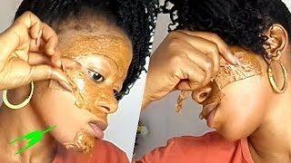 Skin Lightening Facial Peel Off Mask 100% Working