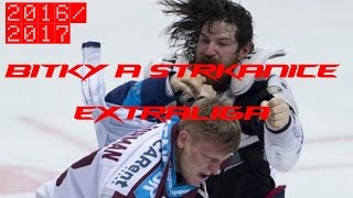 Hokejové bitky a strkanice extraligy 2016/2017