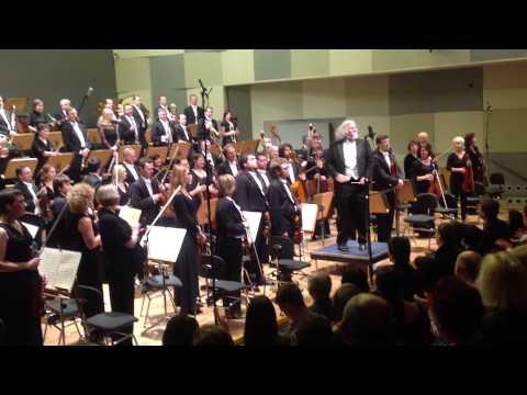 Koncert Filharmonia Wrocławska 11.01.2013 Wrocław Polska