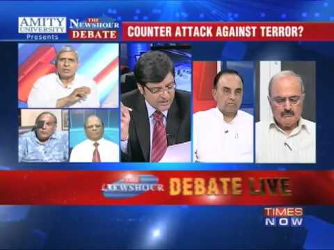 The Newshour  Debate: Counter attack against terror? (Part 2 of 2)