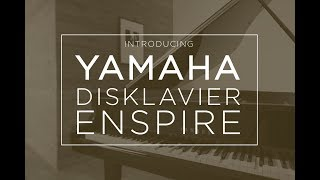 YAMAHA Disklavier Enspire Acoustic Recording & Self Playing Piano