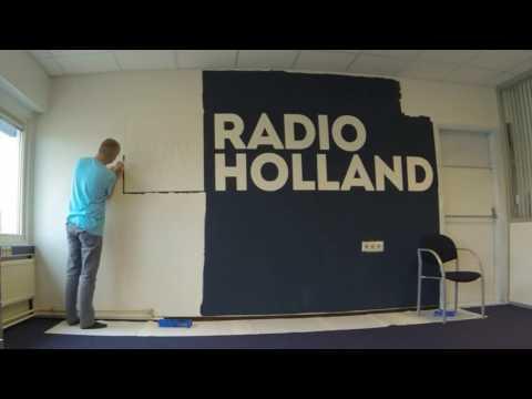 Radio Holland Wall Painting