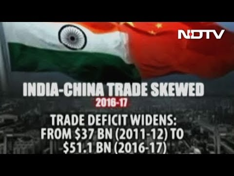 India-China Trade Not A Level Playing Field