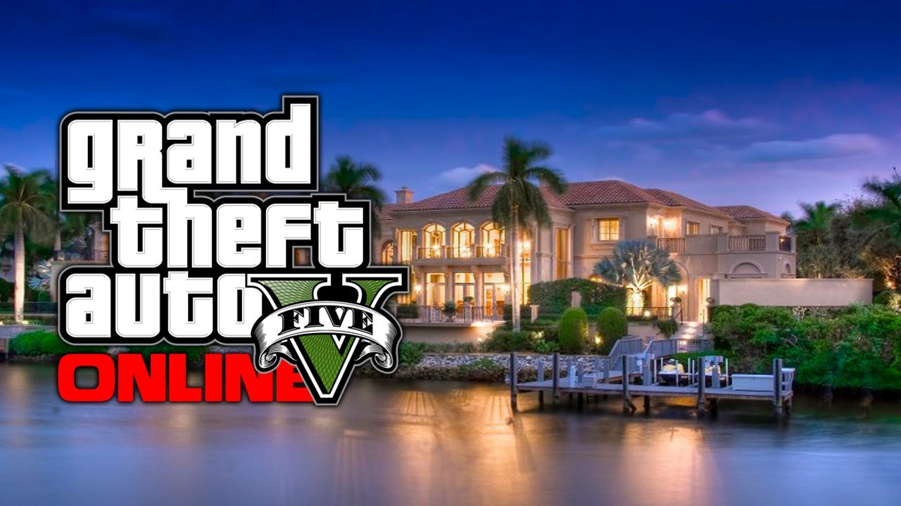 Gta 5 online new safe houses apartments mansions for Find a house online
