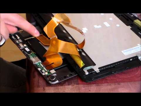 Easy How to Fix Asus Tablet No video Display Screen Repair