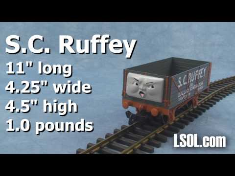 Thomas and Friends: UnBoxing -  Brake Van and S.C. Ruffy in Large Scale from Bachmann Trains