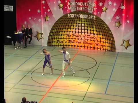 Sarah Baier & Felix Hentsch - Norddeutsche Meisterschaft 2012